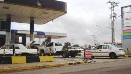 gasolinería en la frontera colombo venezolana