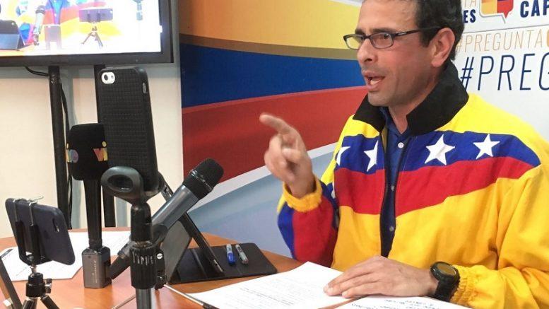Capriles gobernador de Miranda