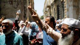 policía israelí prohibe paso a mayores de 50 años a ciudad vieja