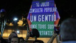 papagayo protesta
