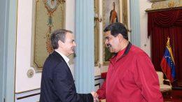 Zapatero y Maduro
