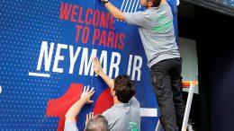 neymar arriba a parís