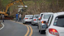 Puerto Rico evacuación por daños en represa