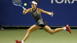 muguruza pierde ante Wozniacki en Tokio