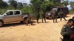 mina en bolívar enfrentamientos deja tres muertos