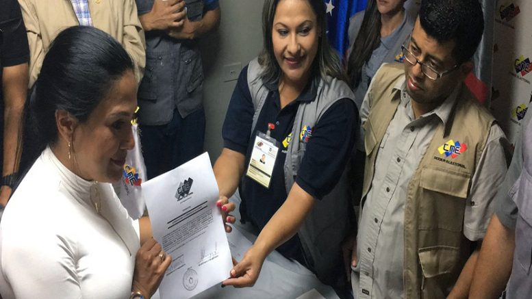 Gobernadora del estado tachira venezuela - 1 1