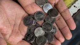monedas ya no sirven para dar cambio