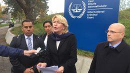 Luisa Ortega Díaz en la Corte Penal Internacional