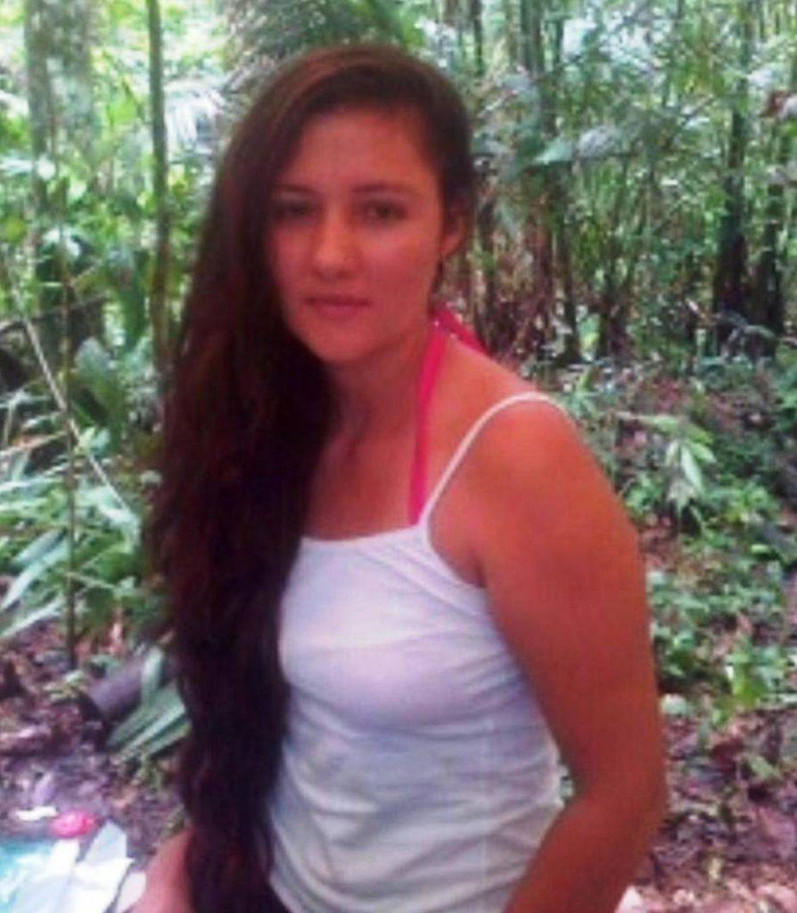 María Jose molina reclutada forzosamente por FARC